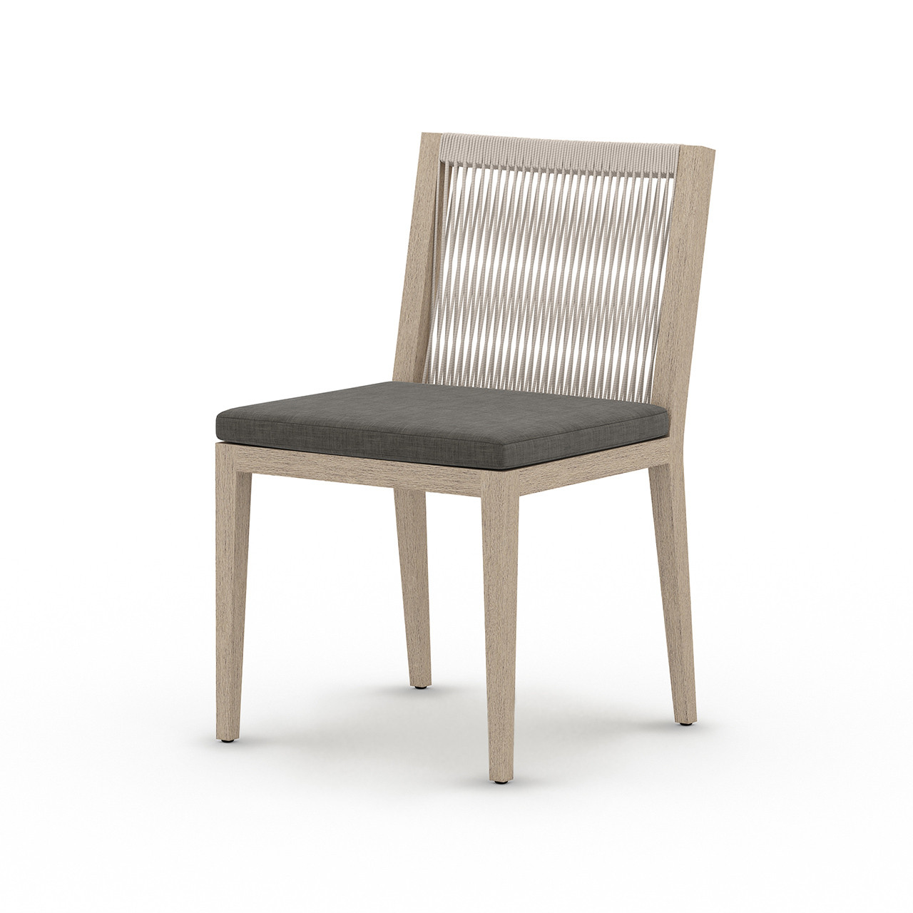 Silhouette Teak Outdoor Dining Chair