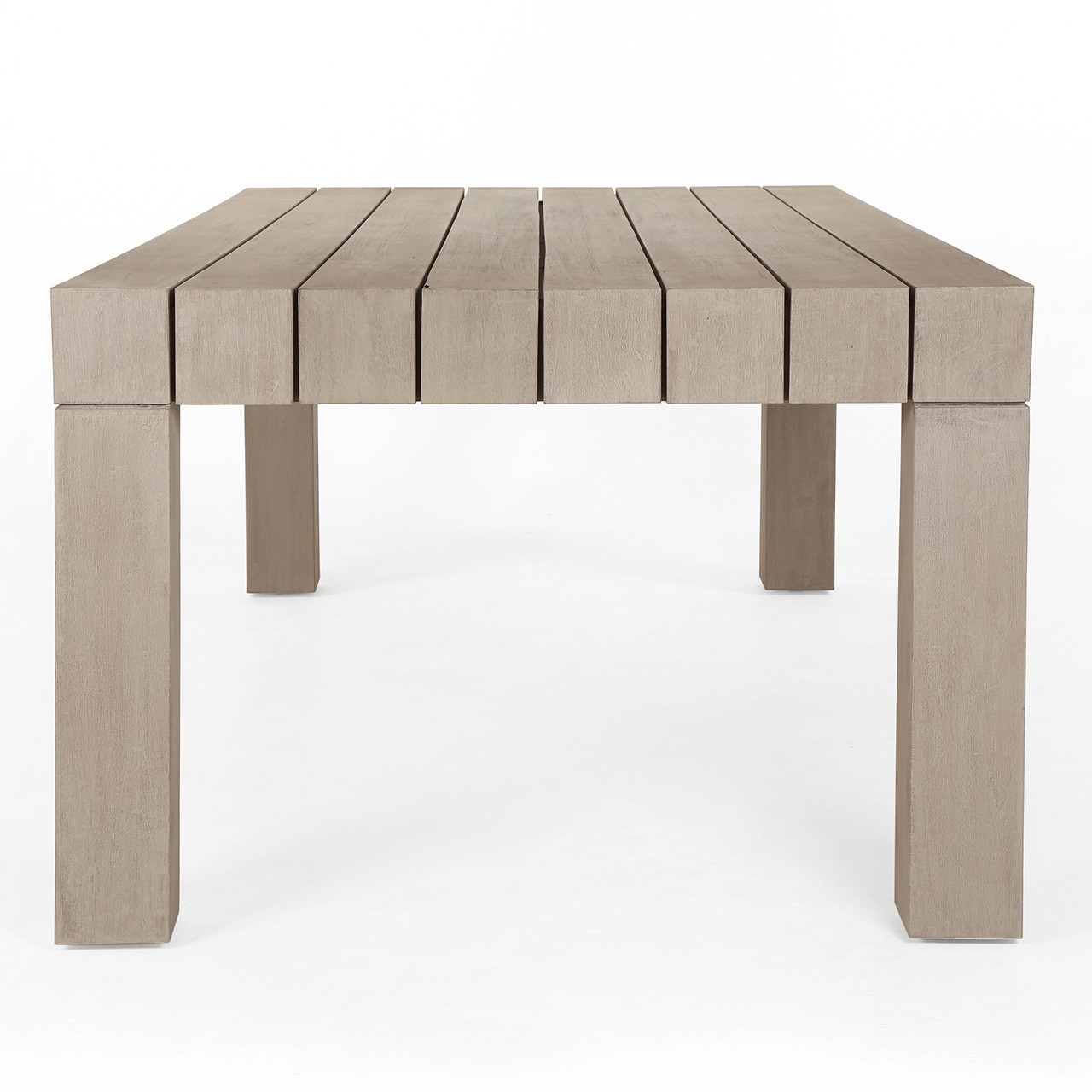 Del Mar Teak Outdoor Dining Table