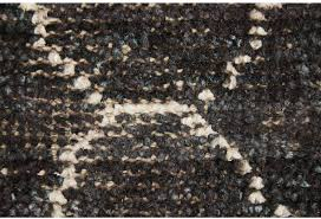 Charcoal Diamond Area Rug