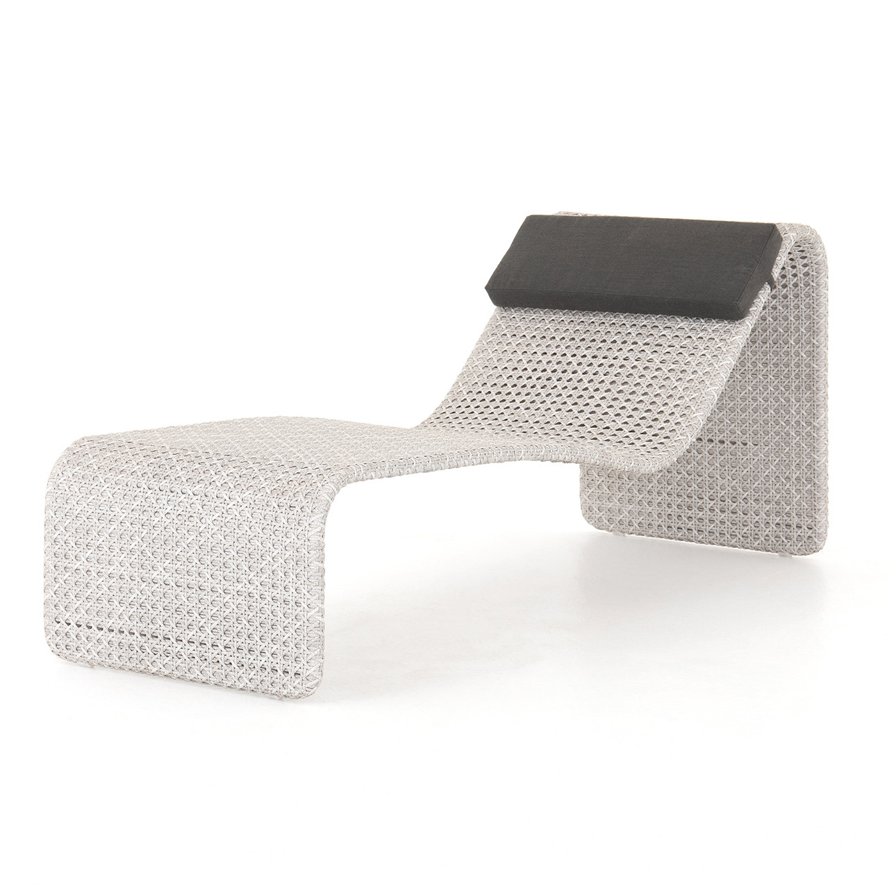 Wave Outdoor Woven Chaise Sunlounger