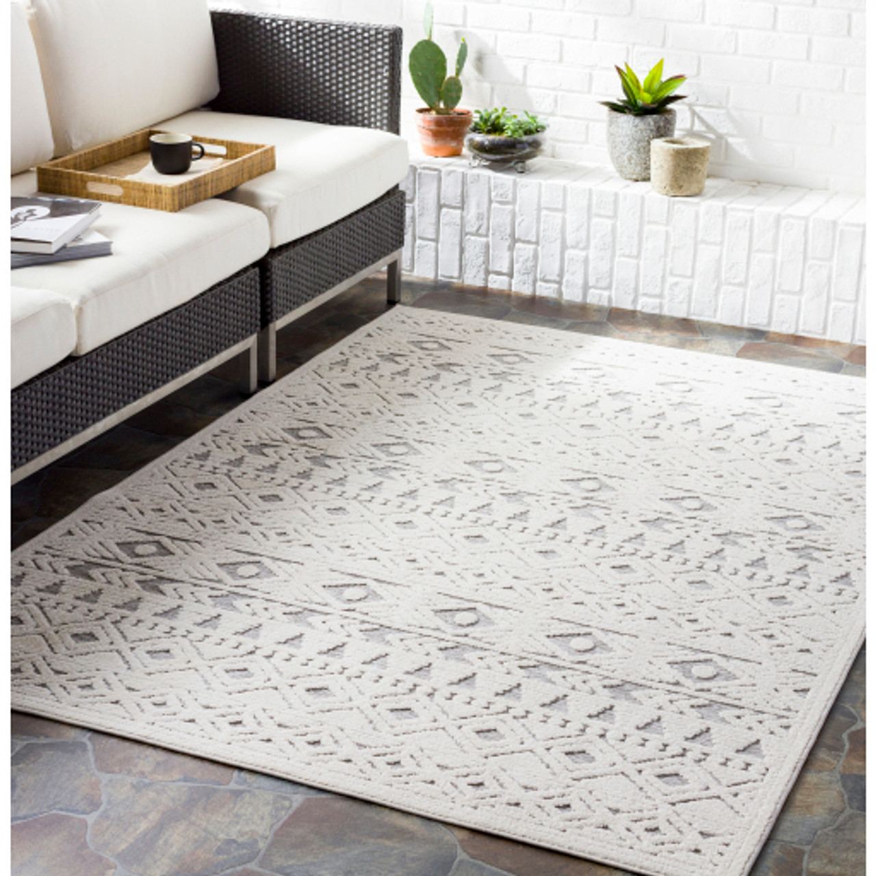 Shorr Indoor Outdoor Rug - Style 1