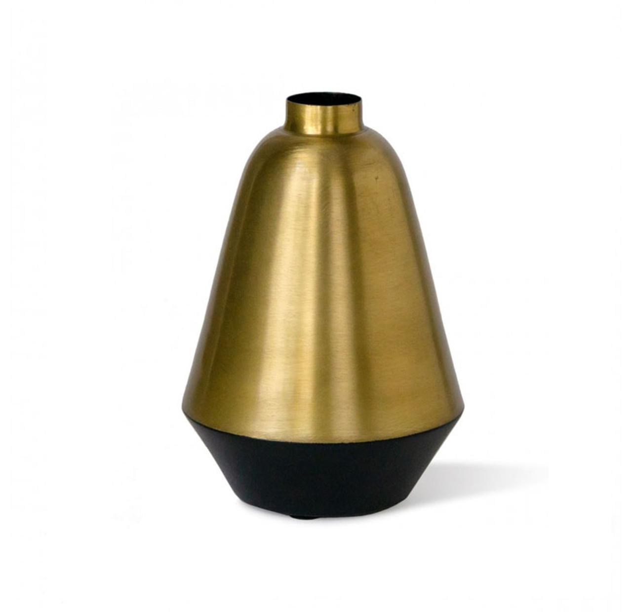 Berber Noir Brass Vase