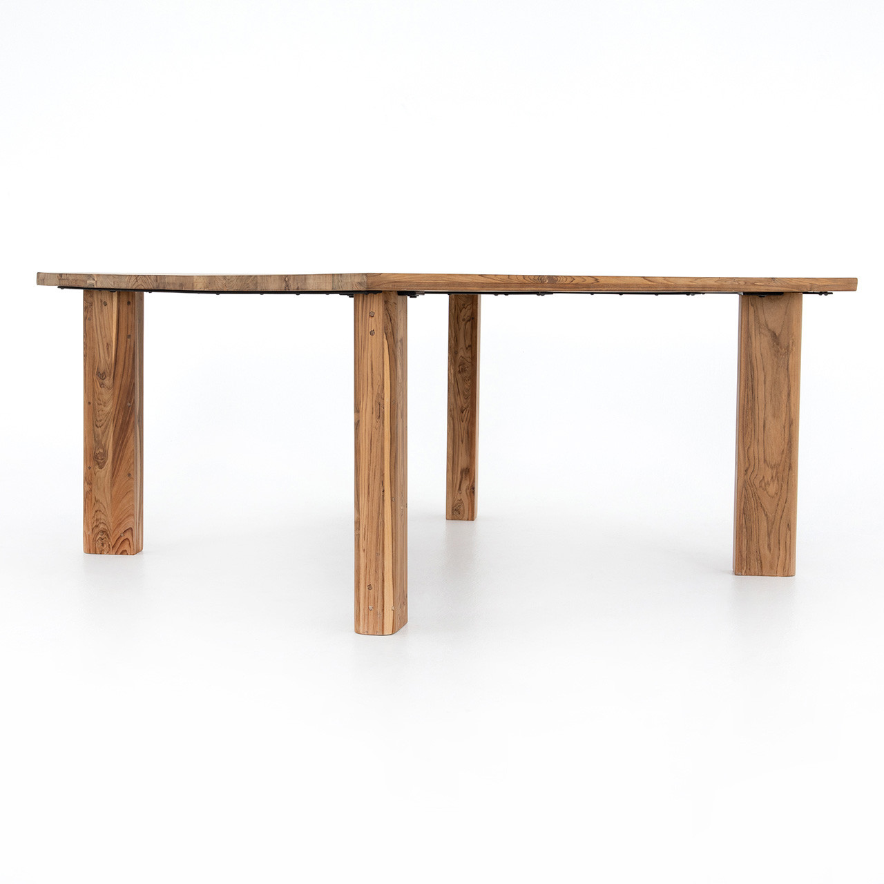 Cardiff Square Teak Dining Table