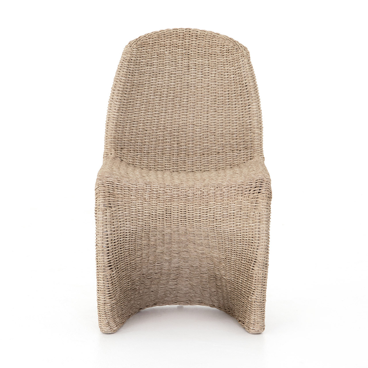Cantilever Outdoor Woven Dining Chair