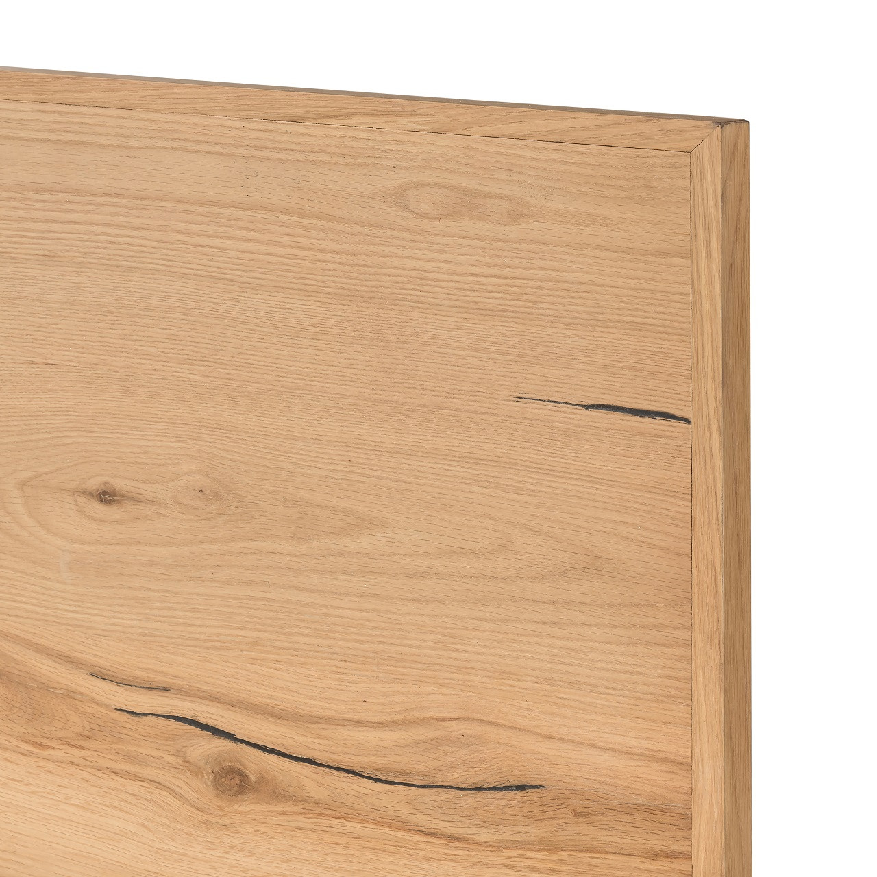 Eaton Bed-Light Oak - Queen size bed