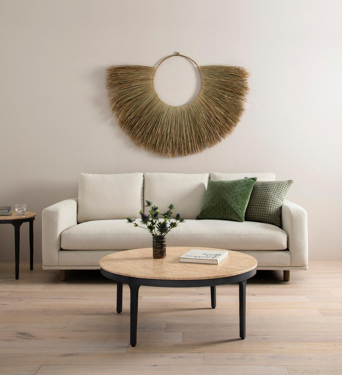 Palm Leaf Wall Hanging, Set of 3