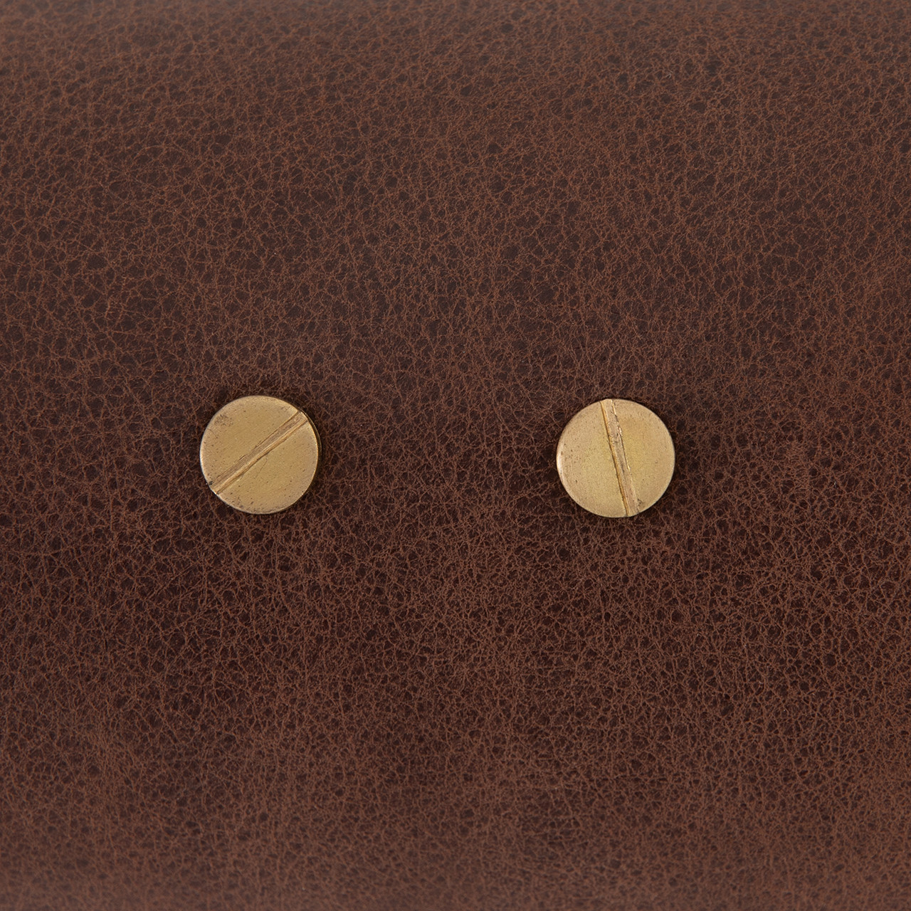 Luxe Double Pendant-D Brown Leather