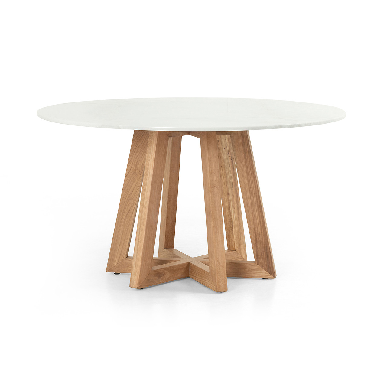 Creston Dining Table - White Marble