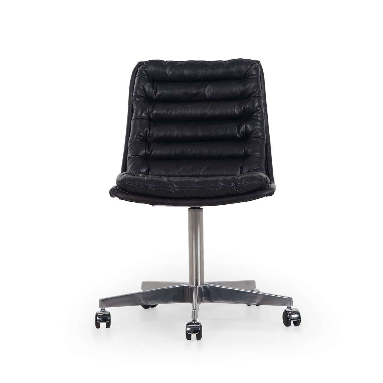 Malibu Desk Chair - Rider Black