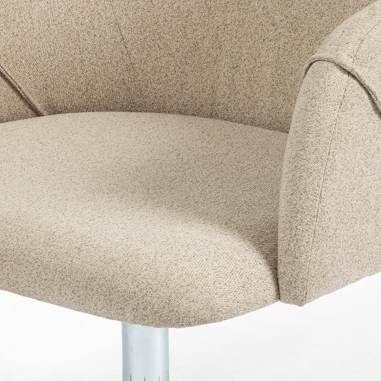 Edna Desk Chair - Fedora Oatmeal