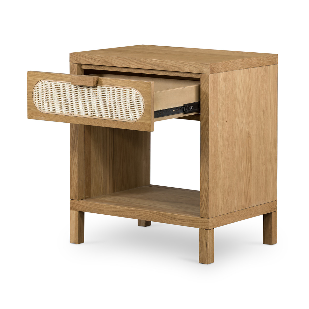 Mace Nightstand - Natural Cane