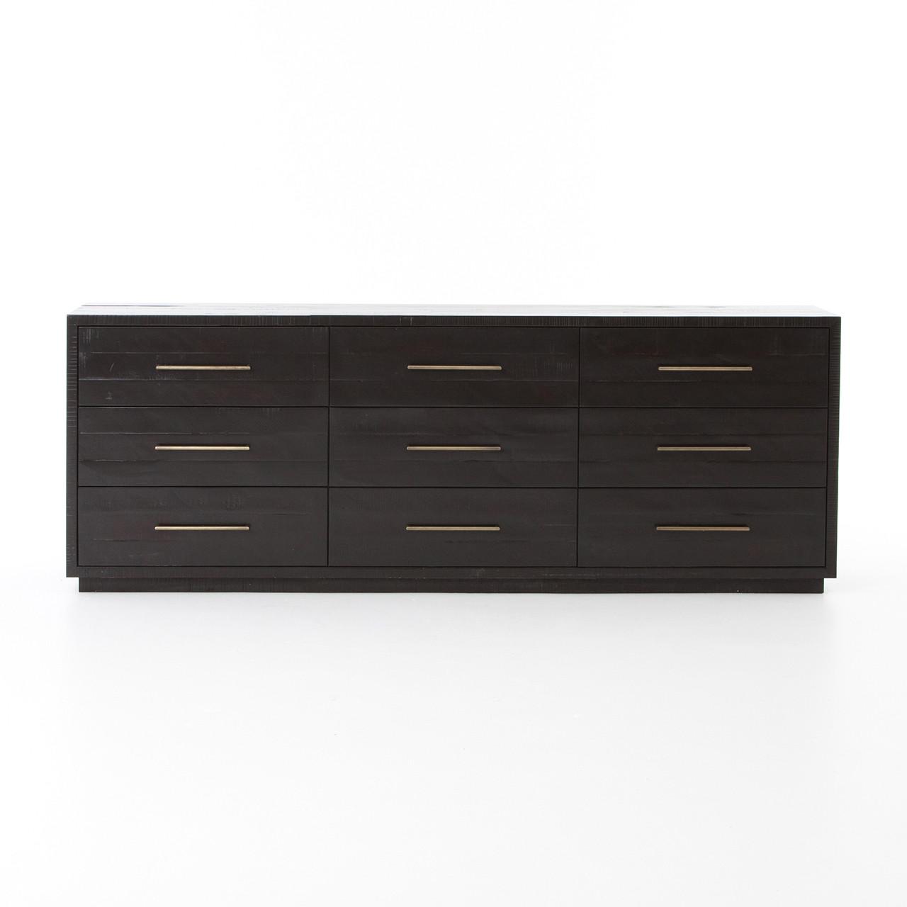 Sully 9 Drawer Dresser - Black