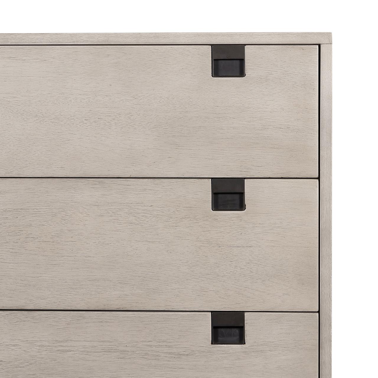 Bryce 5 Drawer Dresser - Grey Wash