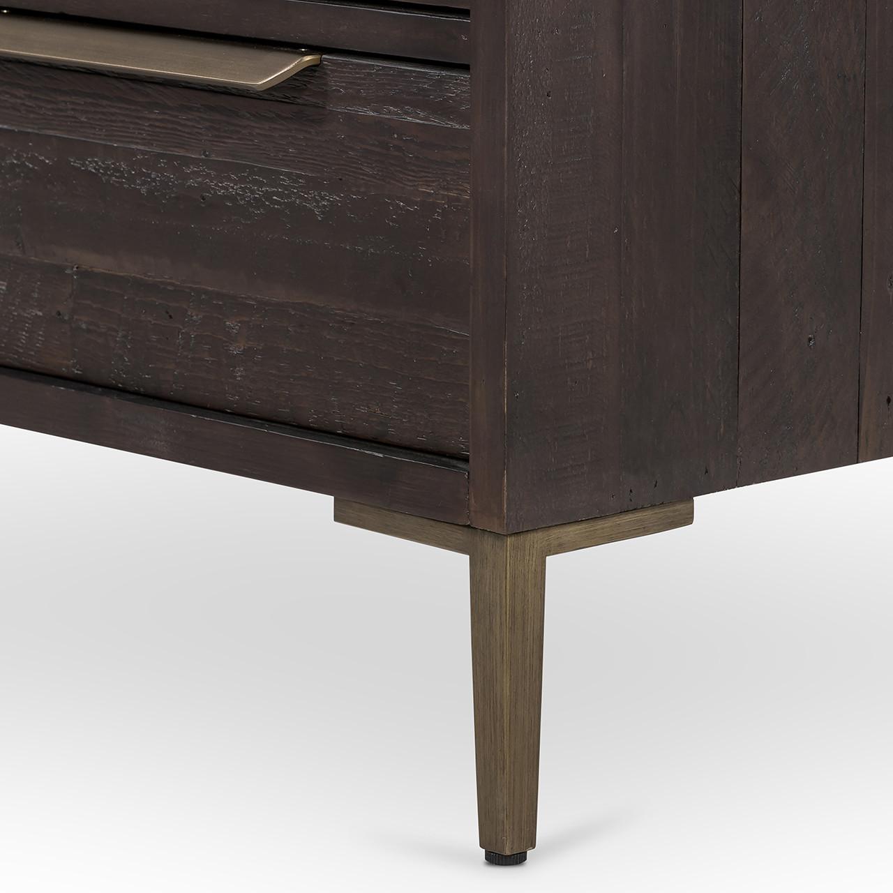 Wyeth 6 Drawer Dresser - Dark Carbon