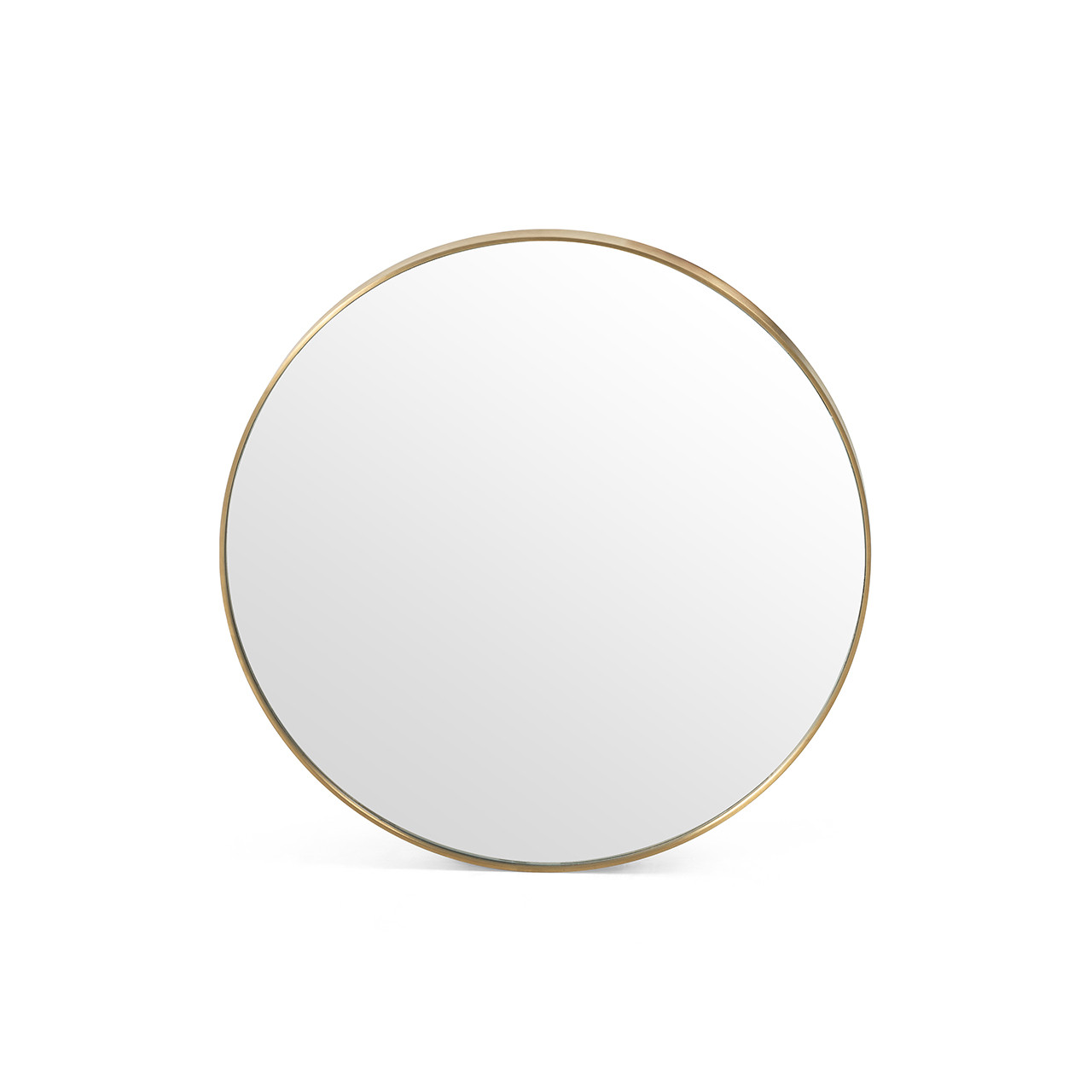 Bellvue Small Round Mirror - Polished Bras