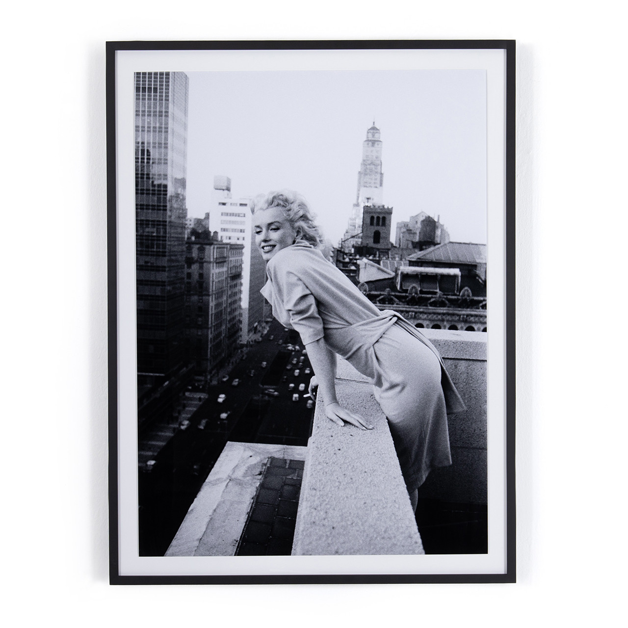 Marilyn On The Roof I By Getty Images