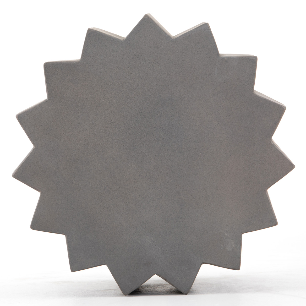 Gem Outdoor End Table-Dark Grey