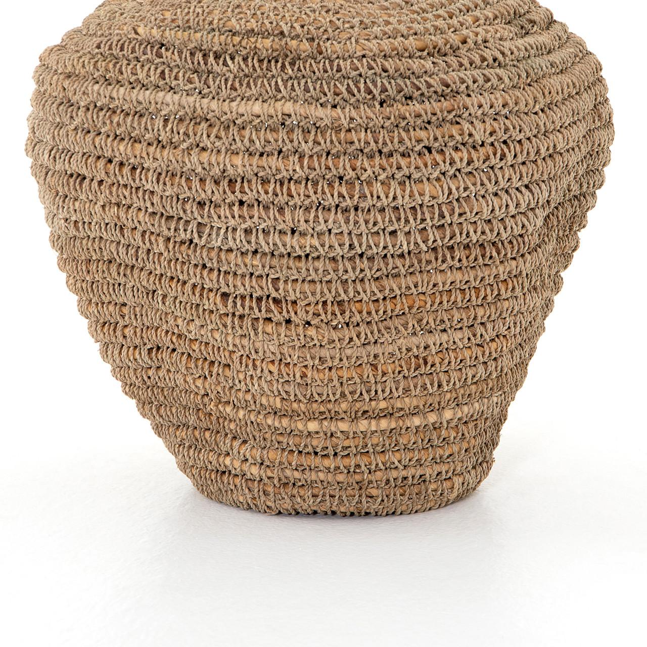 O'ahu Basket - Natural Banana Leaf