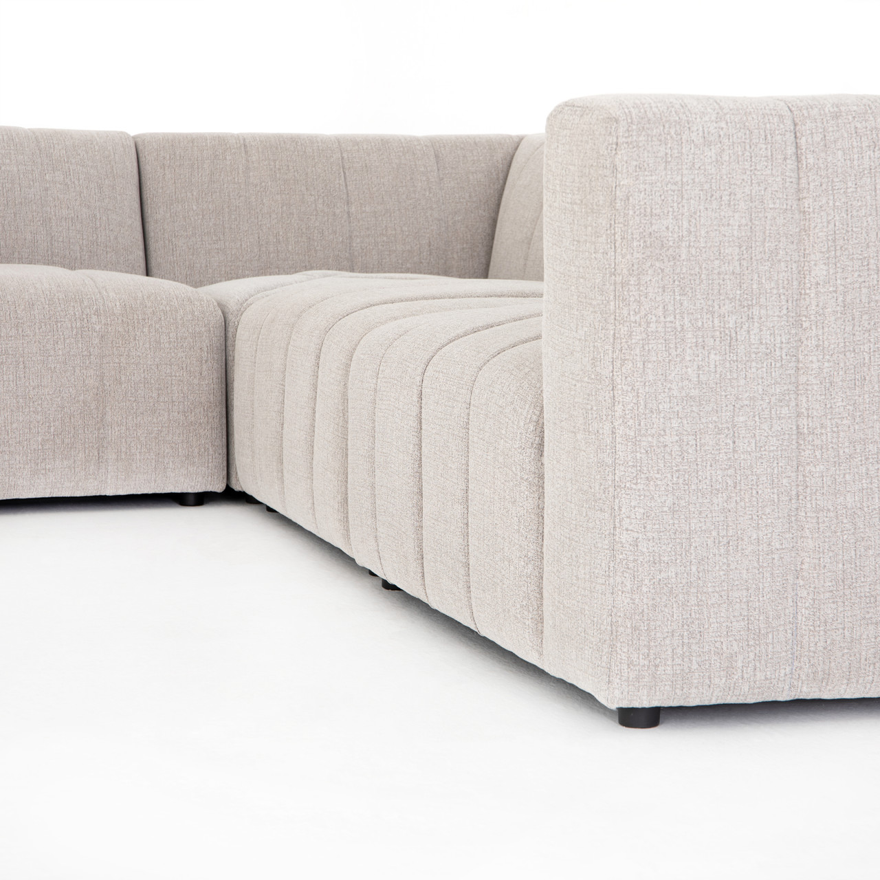 Langham Channeled 6-PC Laf Chaise Secti