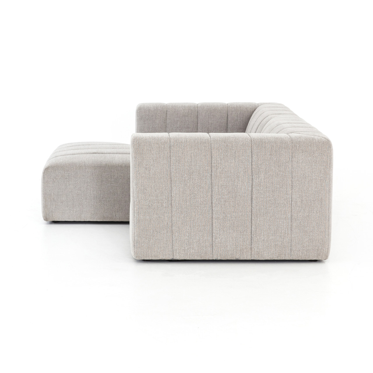 Langham Channeled 2-PC Sectional-Laf CH