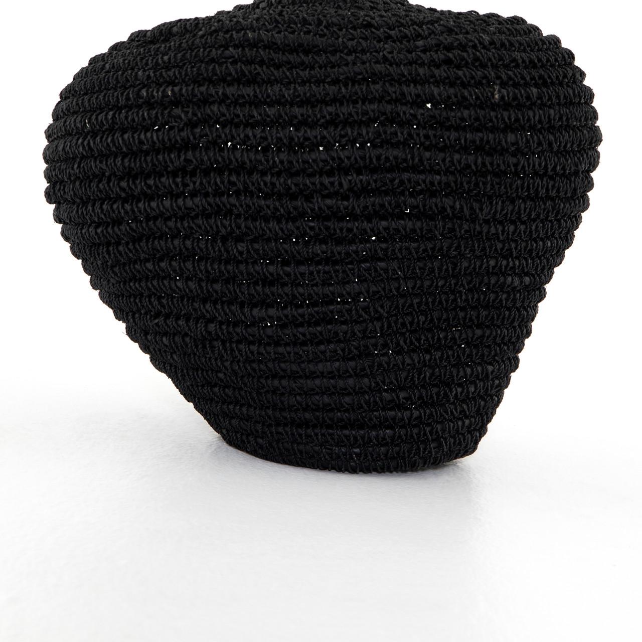 Bodhi Basket-Black Banana Leaf