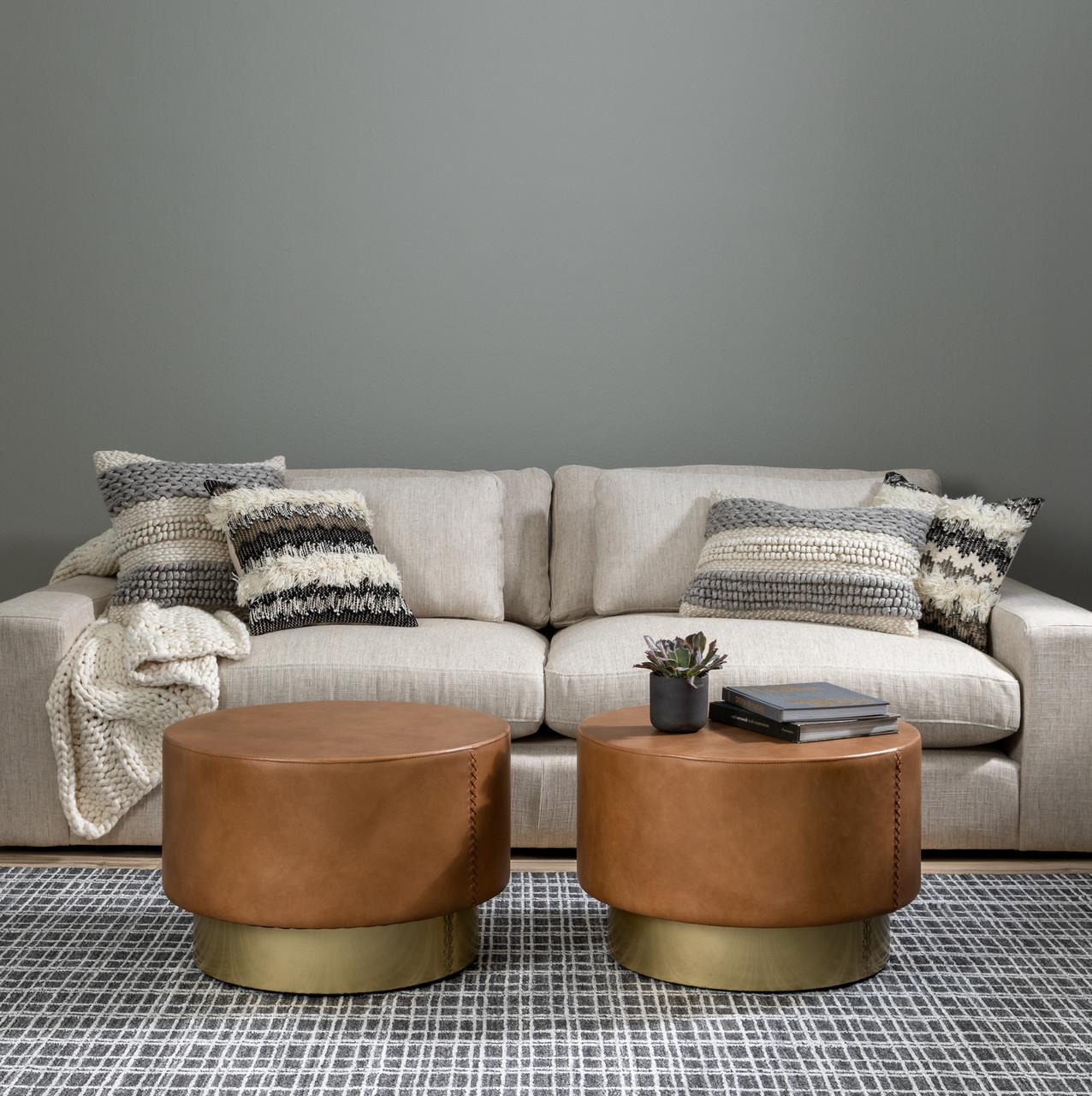 "Textured Stripe Pillow, Set of 2- 16x24"""