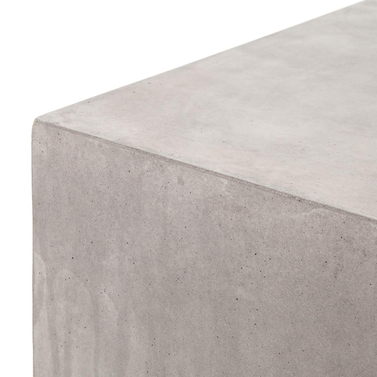 Page Concrete Cube - Grey Concrete