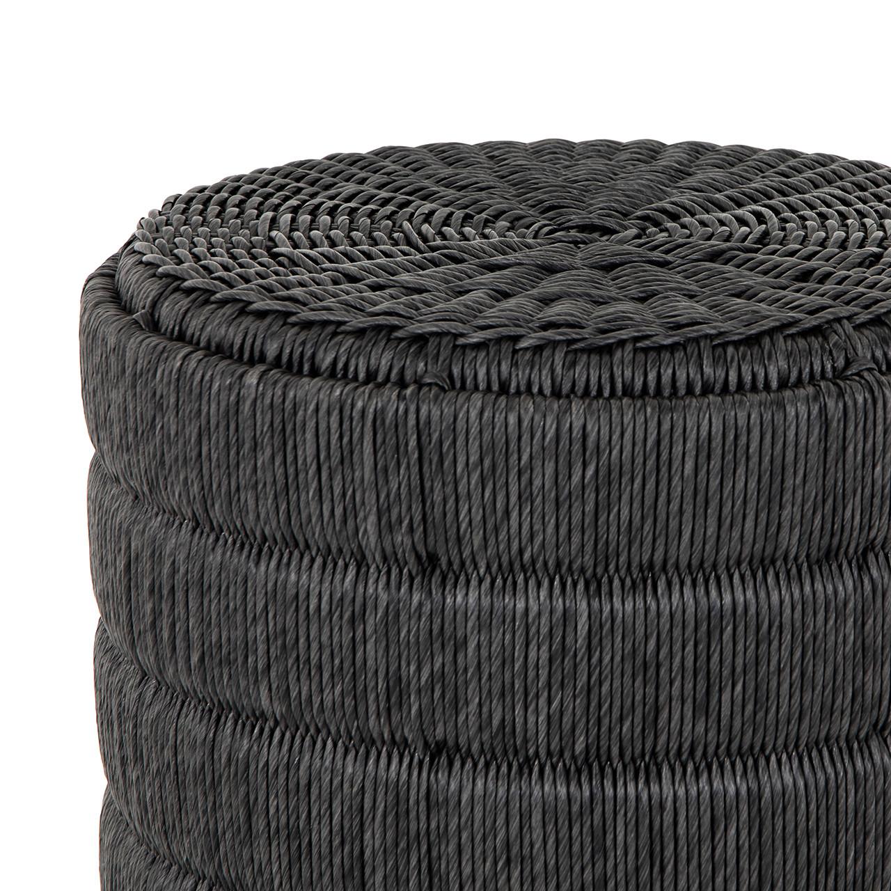 Madura End Table - Vintage Coal
