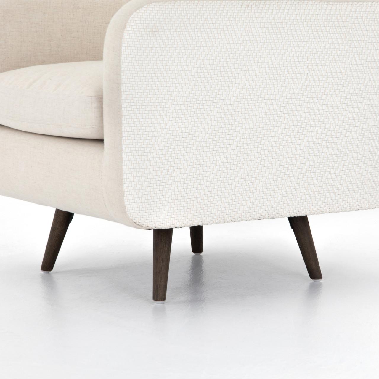 Bergen Swivel Chair-Clover Beige