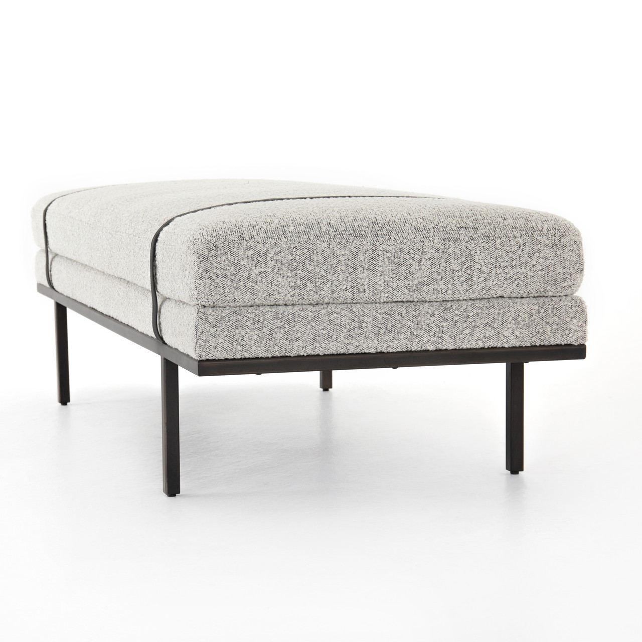 Noah Accent Bench-Knoll Domino