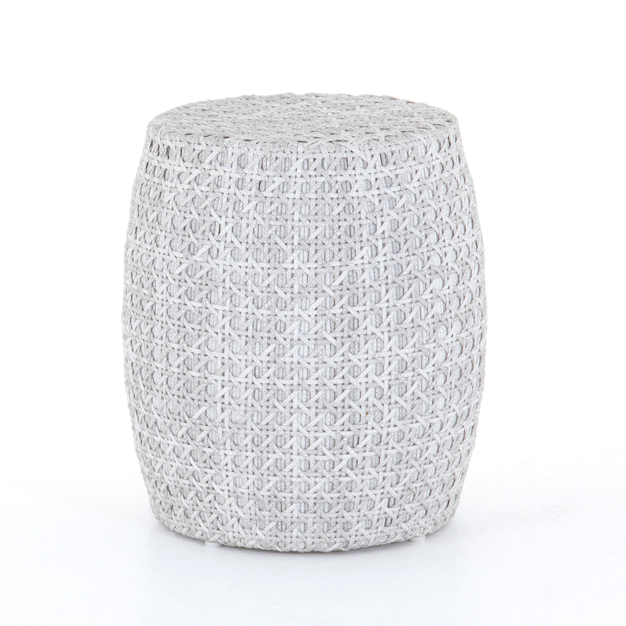 Dorris Outdoor End Table - Brushed Grey