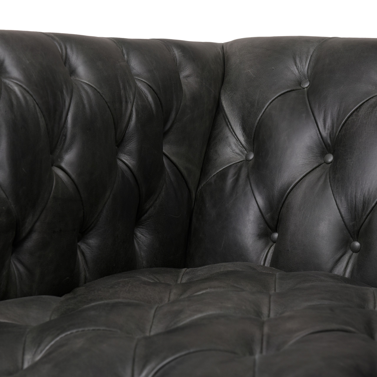 Williams Leather Chair - NW Ebony