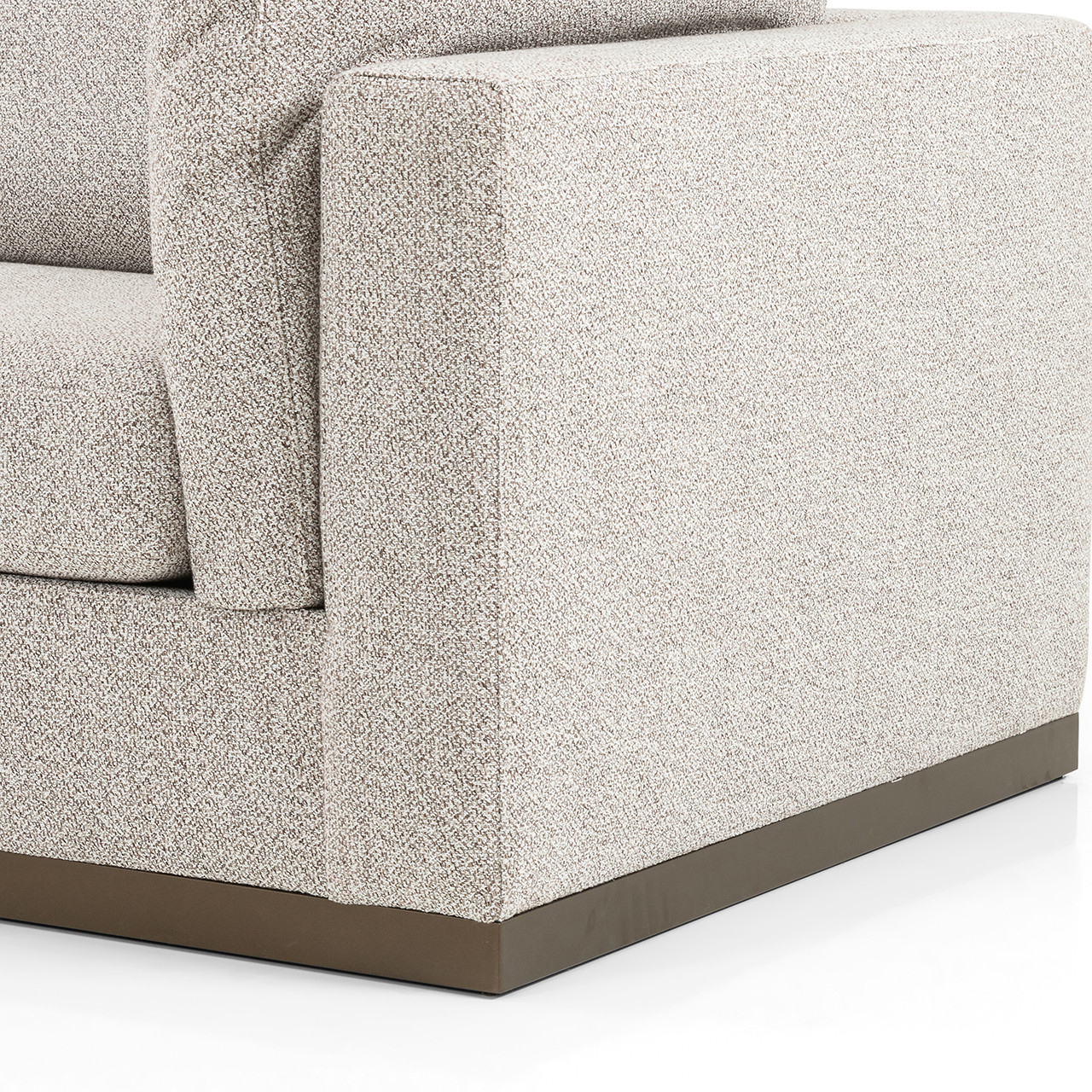 Jade 3 Pc Laf Sectional - Astor Stone