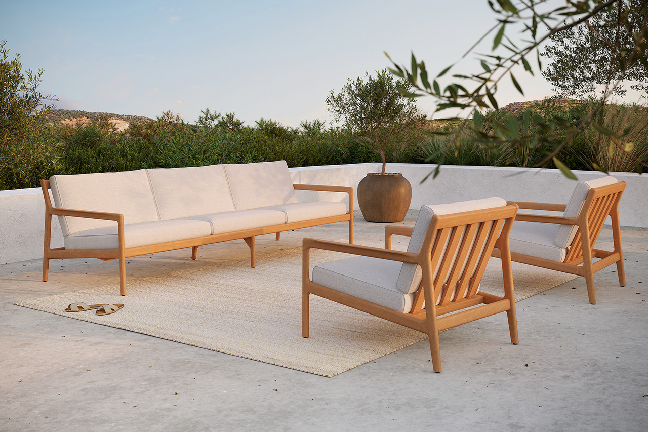 Teak Jack Outdoor Lounge Chair