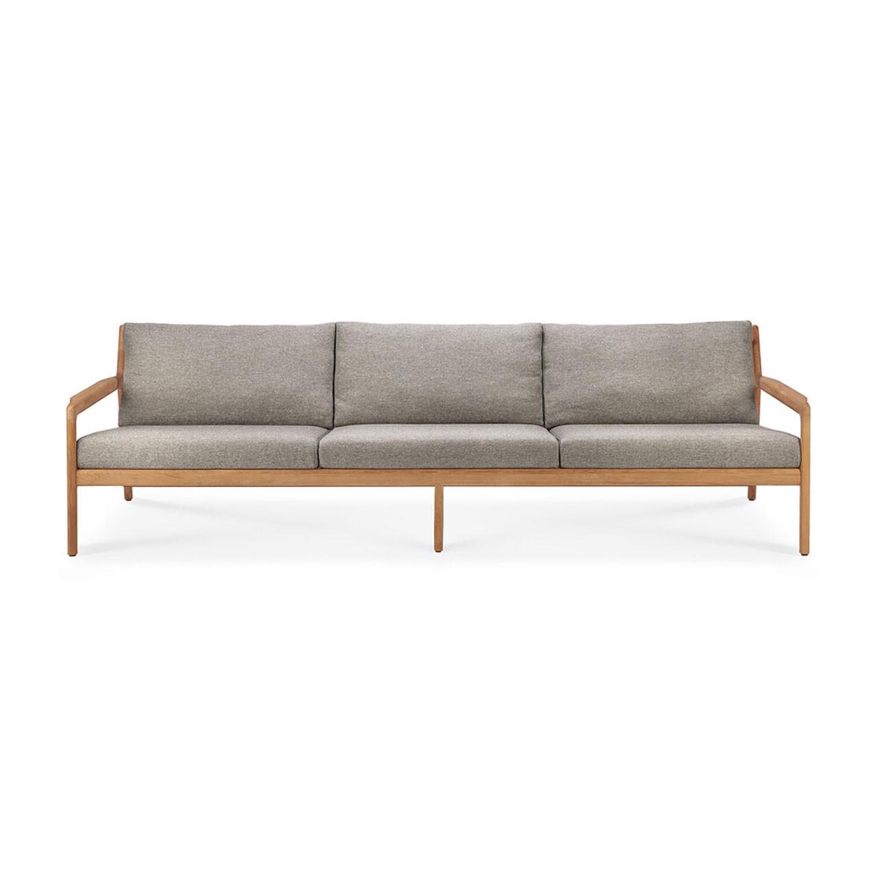 Teak Jack Outdoor 3 Seater Sofa