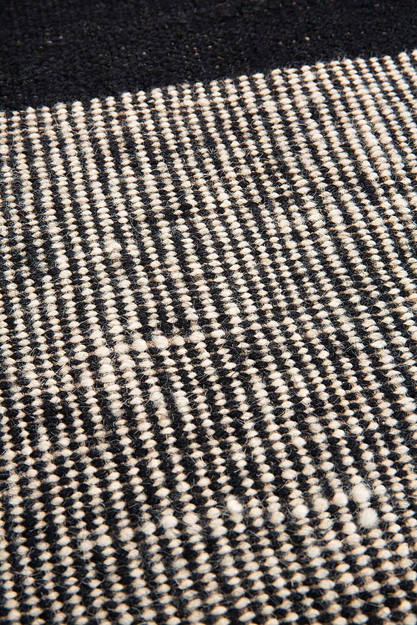 Black Dots Kilim Rug