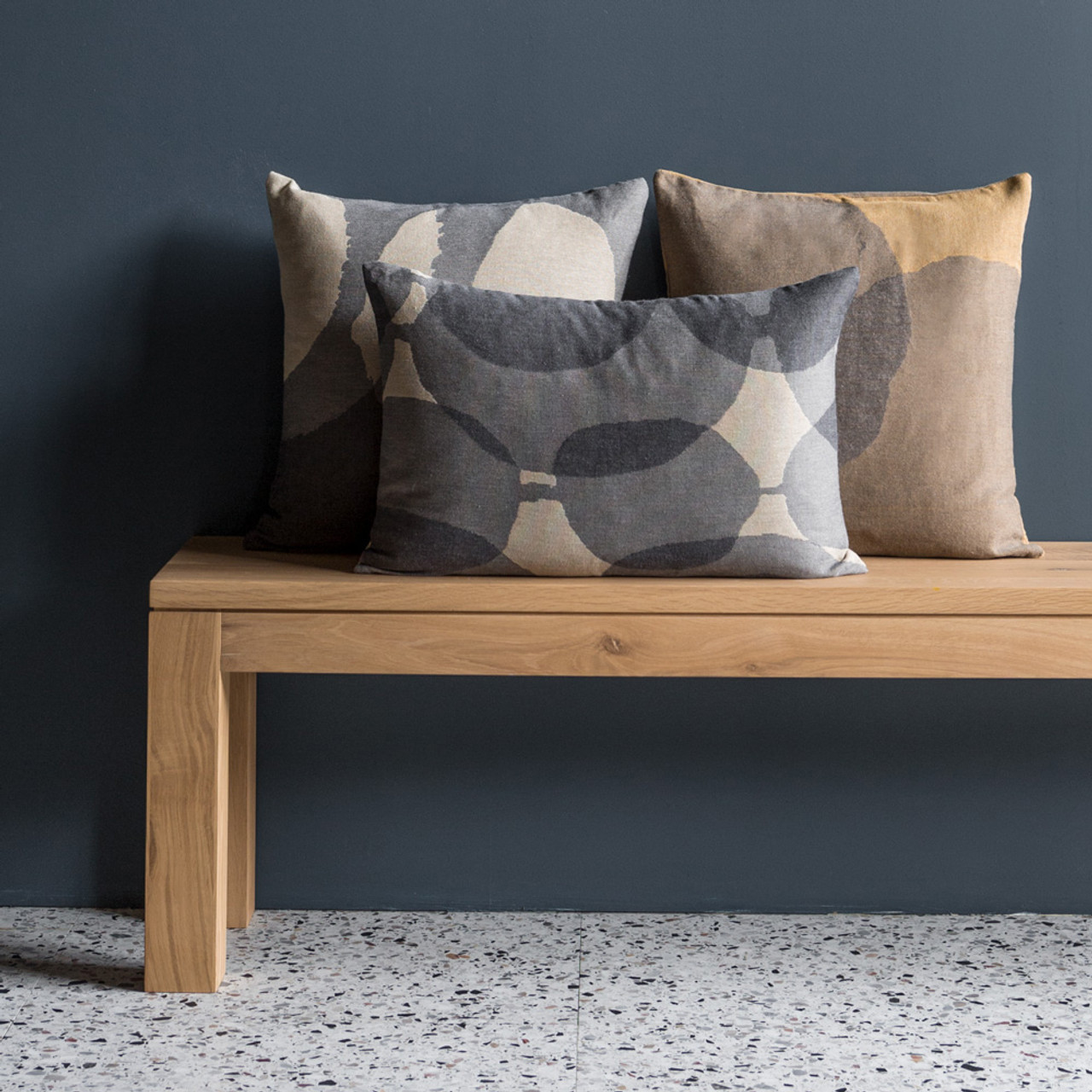 Refined Layered Dots Pillow - Square