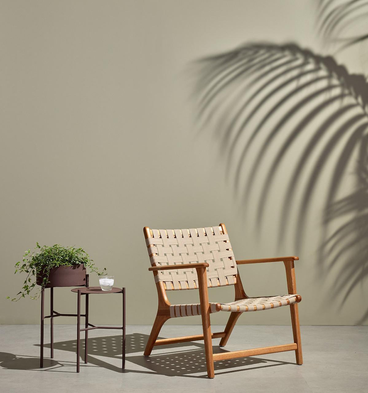 José Outdoor Chair Auburn Eucalyptus