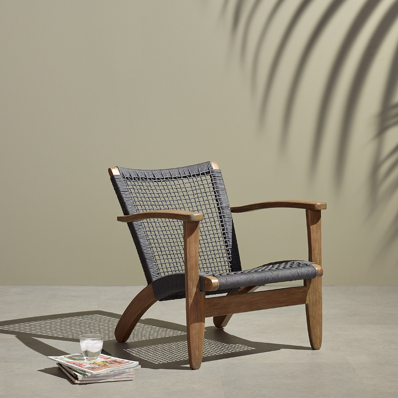 Nardo Outdoor Chair - Natural Eucalyptus