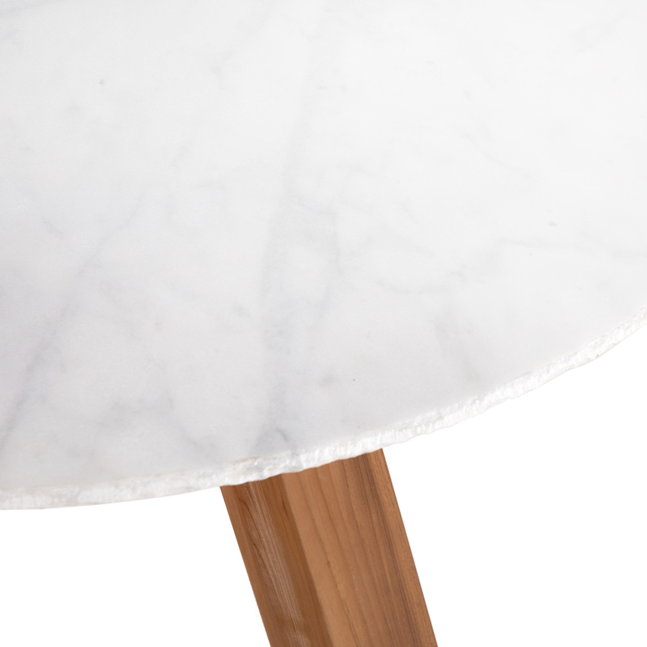 """Sandy Outdoor Dining Table 54"""" Marble"""