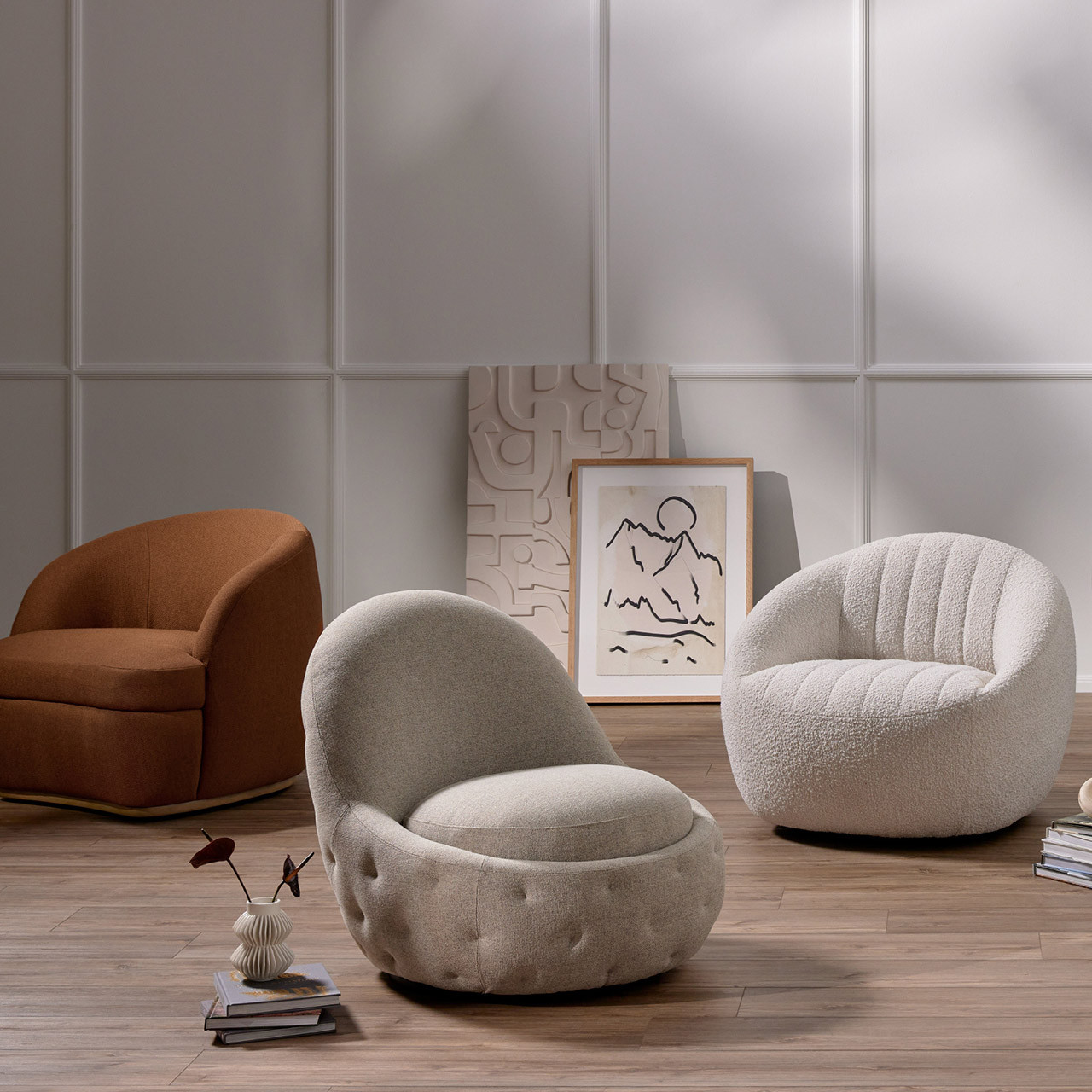 Audrey Swivel Chair