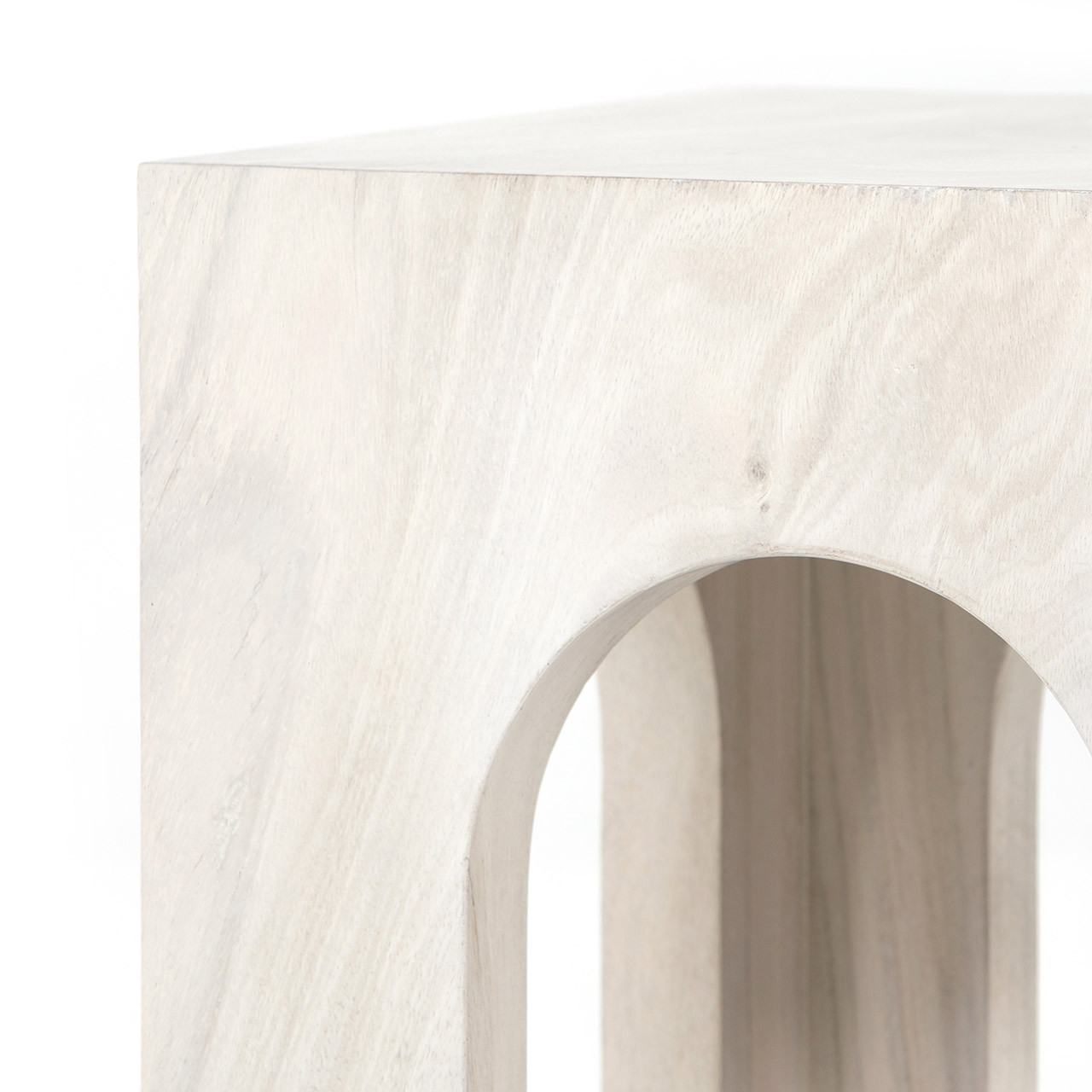 Firgo End Table - Bleached Guanacaste