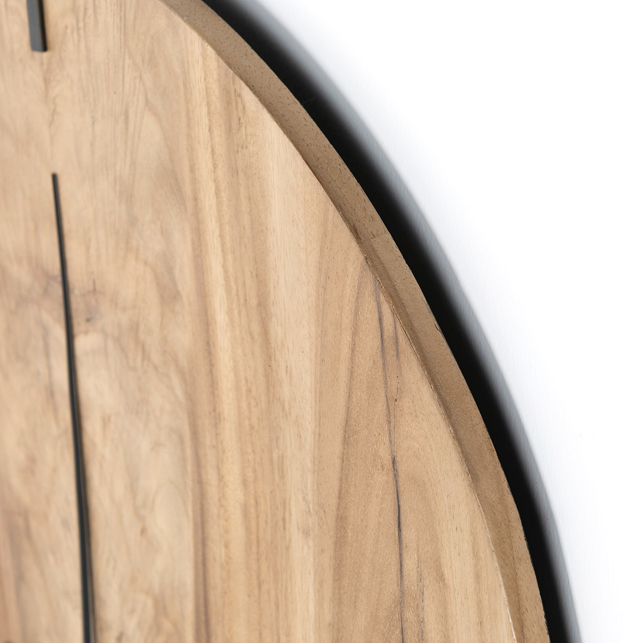 Lorena Wall Clock - Gold Guanacaste