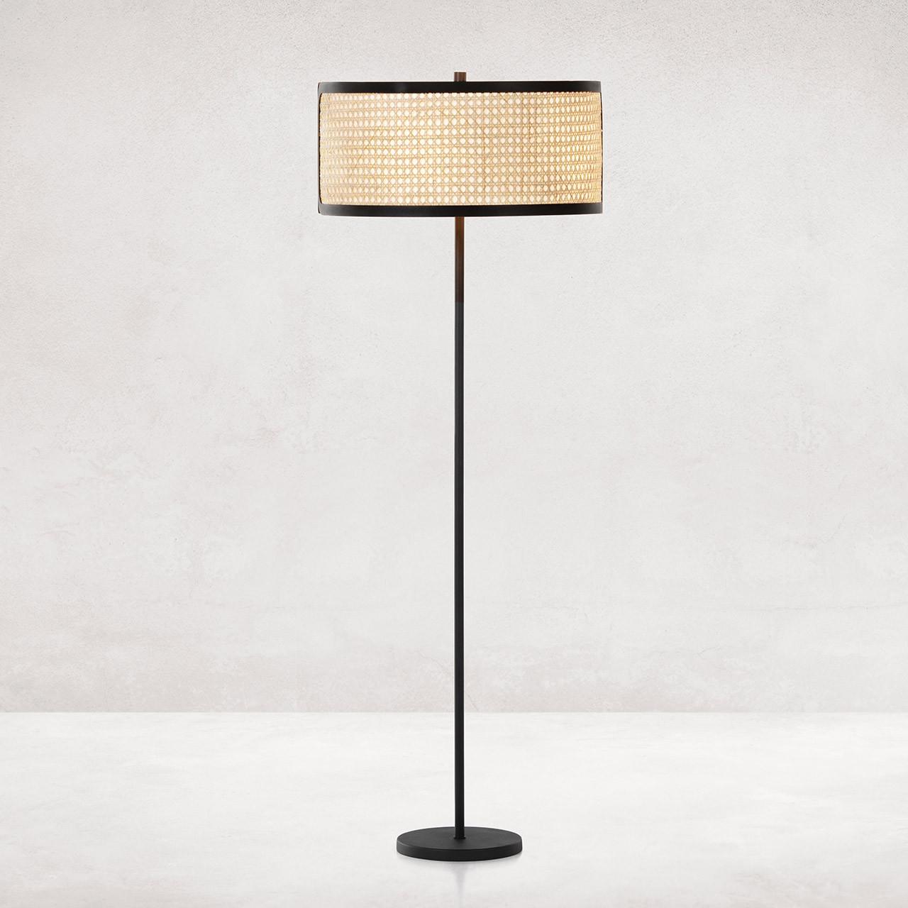 Fairbanks Floor Lamp - Textured Black