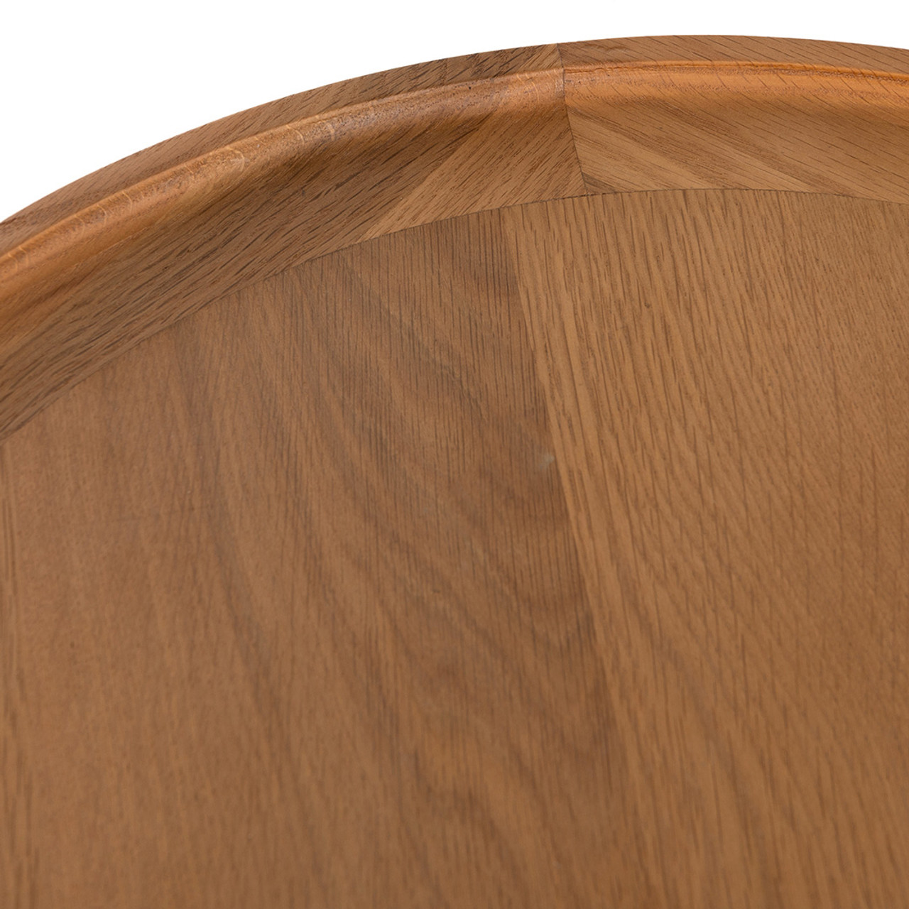 Saint Kitts End Table - Golden Wheat Oak