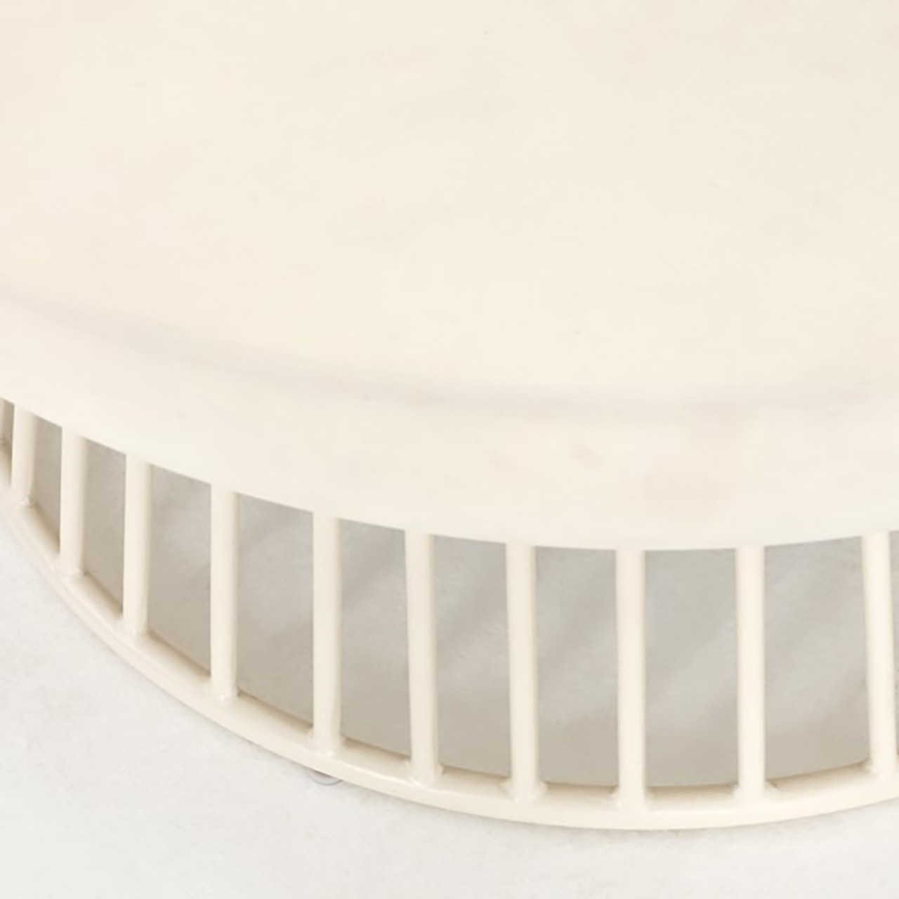 Den Coffee Table - White Concrete