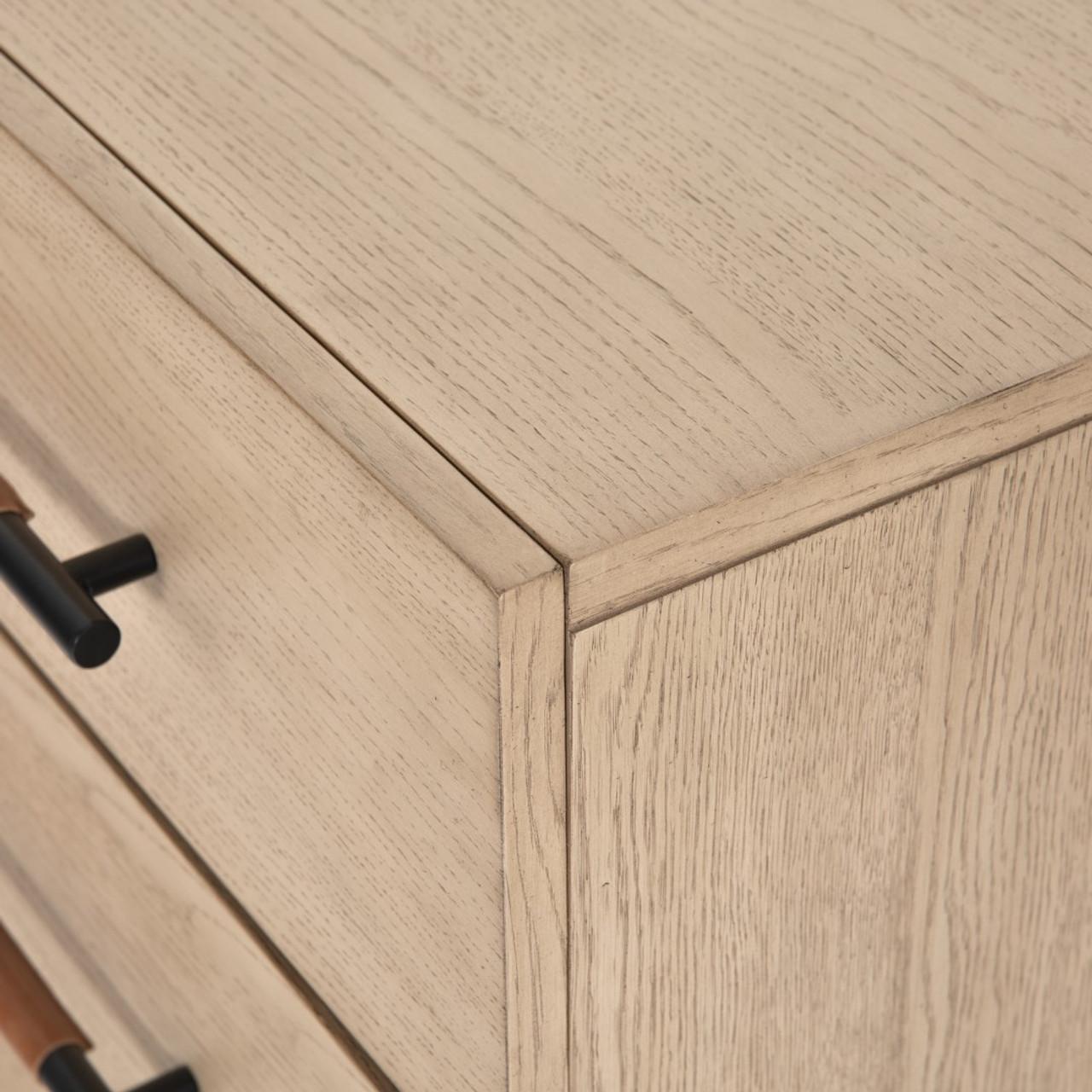 Ruse 6 Drawer Dresser - Yucca Oak