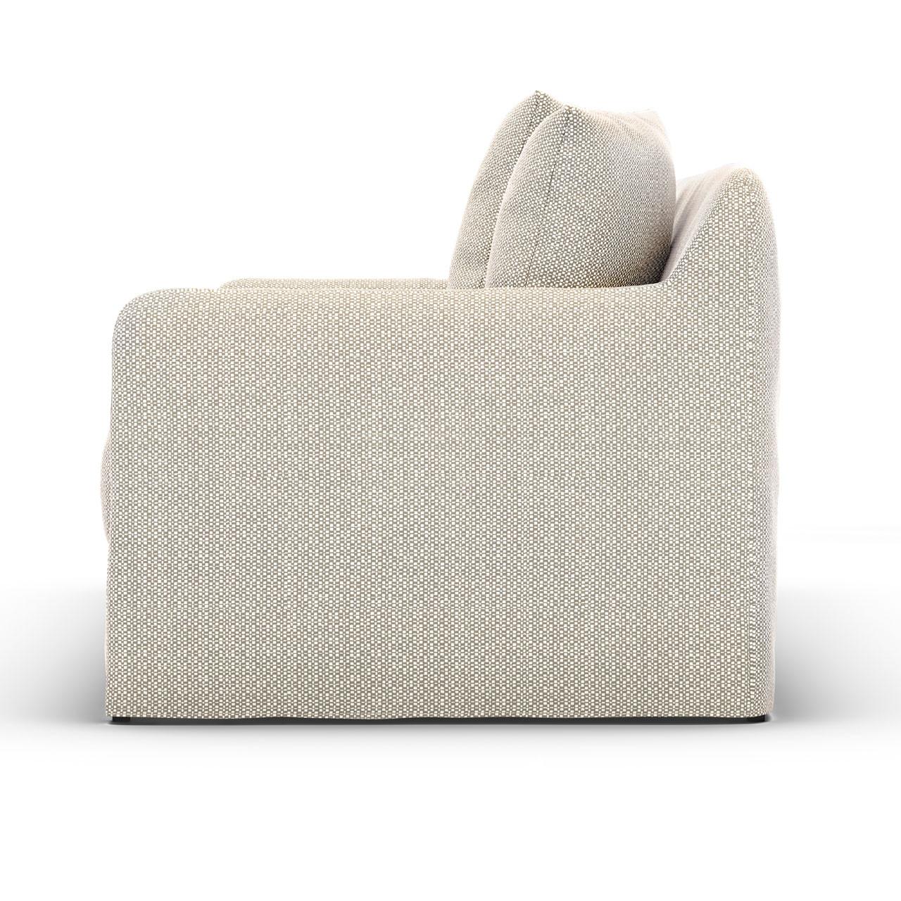 "Wenlock Outdoor Sofa - 90"" Stone Grey"