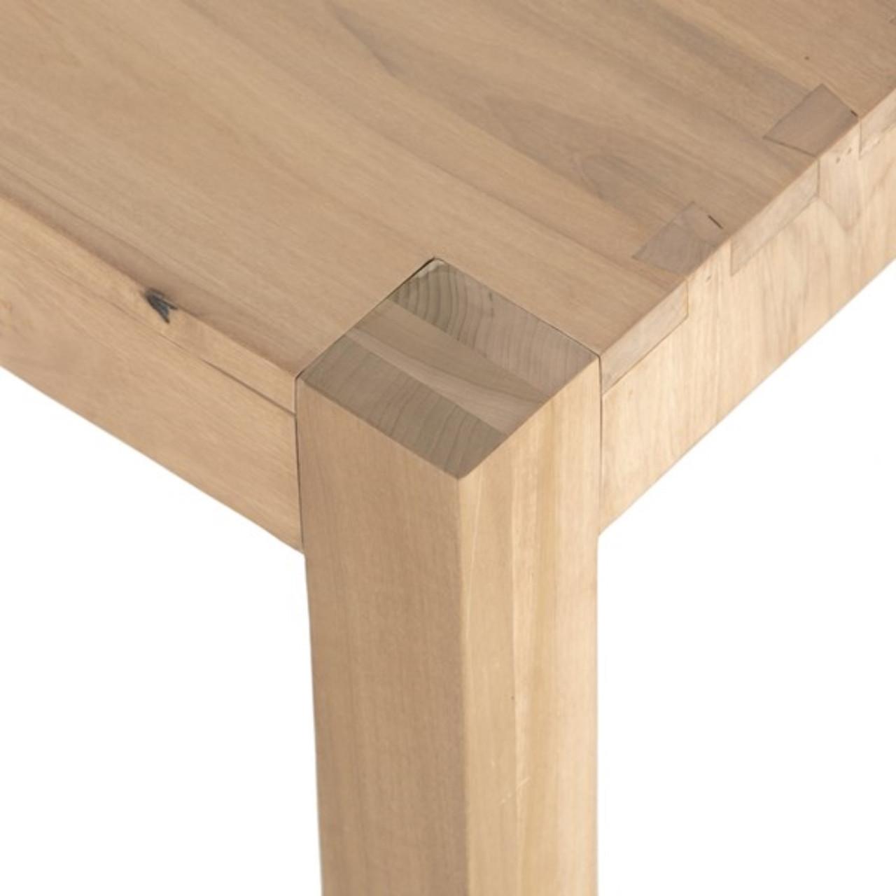 Elands Dining Bench - Dry Wash Poplar