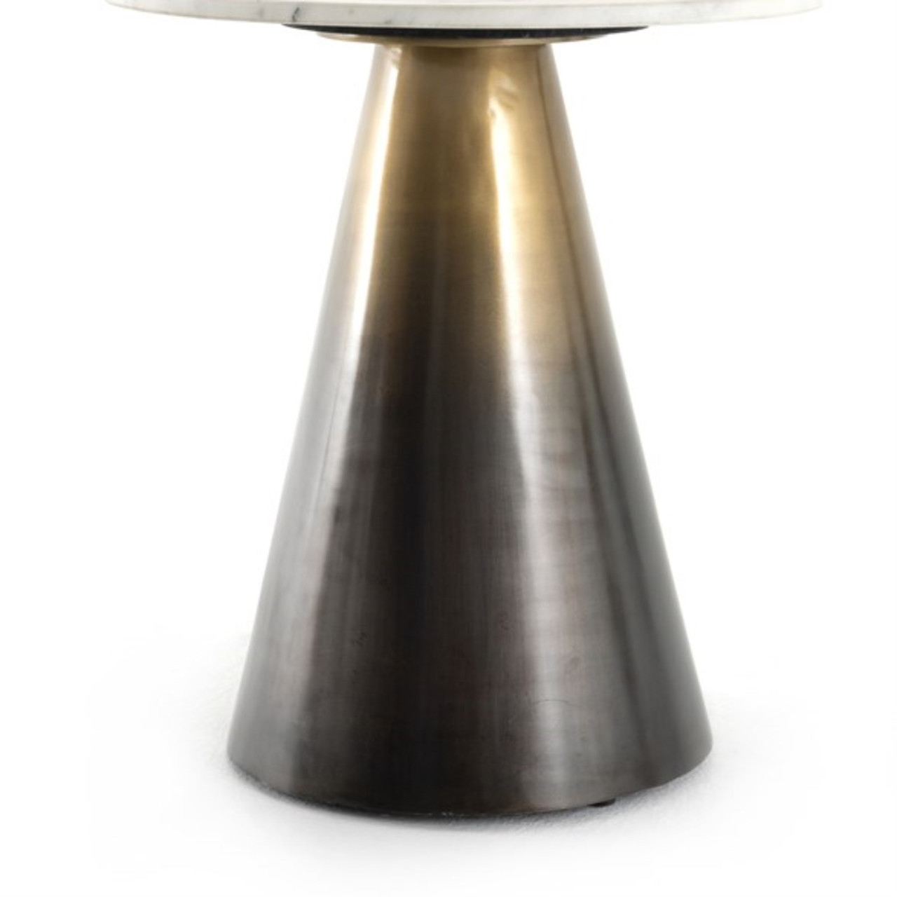 Are End Table - Ombre Antique Brass